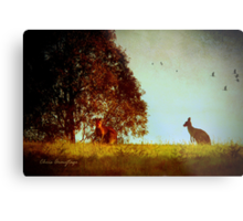 All in the moonlight pale ... Metal Print