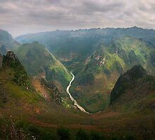 River in the Valley by Bill Atherton
