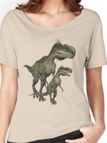 On The Hunt , Dinosaurs Women's Relaxed Fit T-Shirt