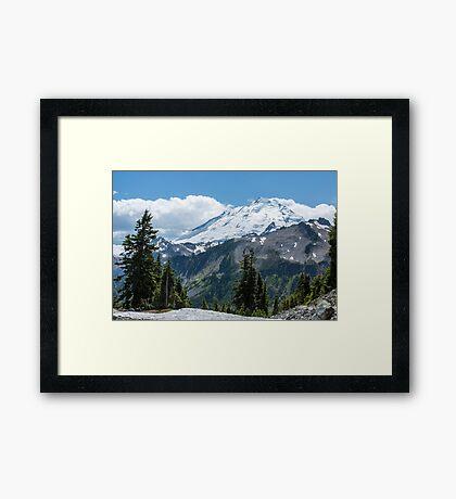 Mount Baker Framed Print