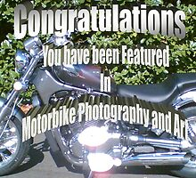 Motorbike Photography and Art Challenge Banner by Tanya Newman