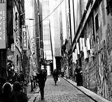 Hosier Lane, Melbourne by petejsmith
