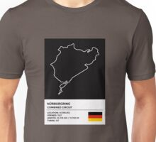 Nürburgring [Combined Circuit] - v2 Unisex T-Shirt