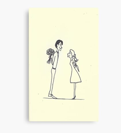 valentine suprise Canvas Print