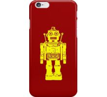 Retro robot geek funny nerd iPhone Case/Skin