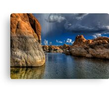 Rockscape Canvas Print