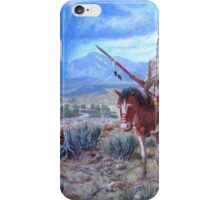 Blackfoot Warrior iPhone Case/Skin