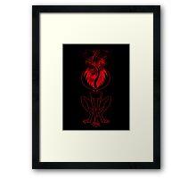 Monster Girl Framed Print