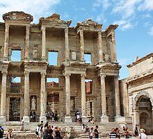 Ruins of Ephesus, Turkey by Deb Gibbons
