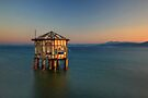 Forgotten pavilion in the middle of the sea by Hercules Milas