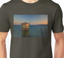 Forgotten pavilion in the middle of the sea Unisex T-Shirt