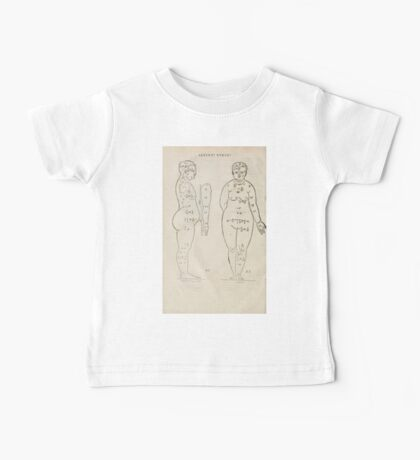 Famous Painter Parts Human Body Symmetry Four Books Geomety 1557 Albrecht Durer 0020 Female Front Side Baby Tee