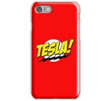 Tesla! iPhone Case/Skin