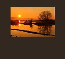 Sunset @ Lake Kerkini Unisex T-Shirt