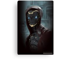 Alien Warrior Canvas Print