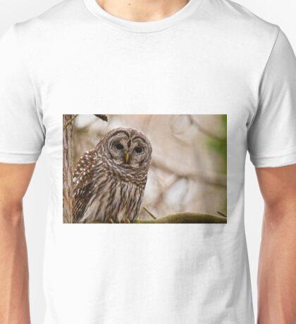 Barred Owl - Presqu'ile Provincial Park  Unisex T-Shirt