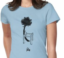 Petit artbre Womens Fitted T-Shirt