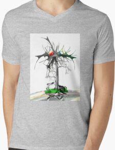 The trouble tree Mens V-Neck T-Shirt