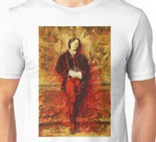 Oscar Wilde by John Springfield Unisex T-Shirt