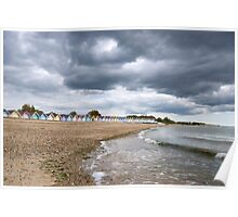 Mersea Seafront Poster