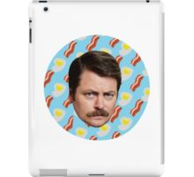 Ron N Bacon N Eggs iPad Case/Skin