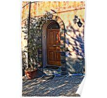 The Italian Door Poster