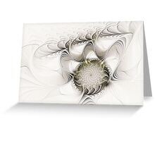 Ruffled Flower Greeting Card