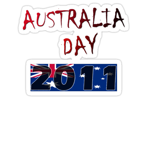 Australia Day 2011 T-Shirt by Craig Stronner