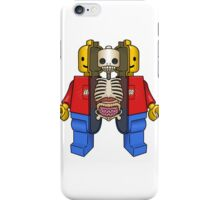 Lego Man Dissected iPhone Case/Skin