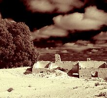 Telegraph Station panorama, Eucla, WA by BigAndRed