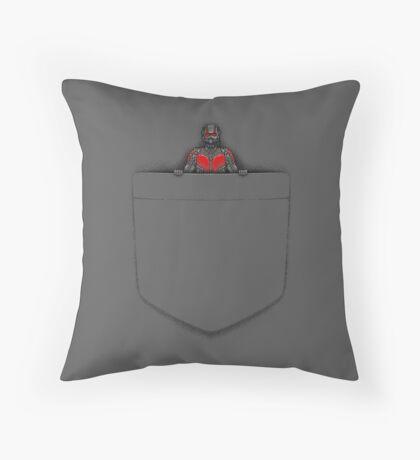 POCKET ANT Throw Pillow