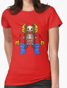 Lego Man Dissected Womens Fitted T-Shirt