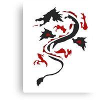 Fire Breathing Dragon  Canvas Print