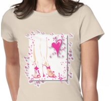 Legs Womens Fitted T-Shirt