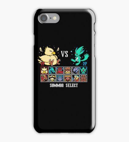 SUMMON FIGHTER iPhone Case/Skin