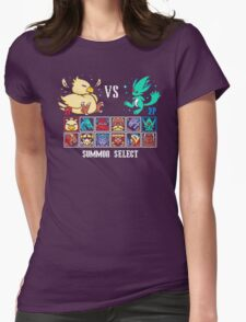 SUMMON FIGHTER Womens Fitted T-Shirt