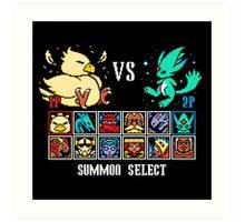 SUMMON FIGHTER Art Print