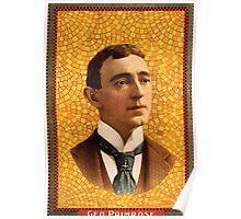 Poster 1890s George Primrose artist poster 18981902 Poster