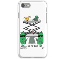 Jack. . .  And The Beans Talk. iPhone Case/Skin