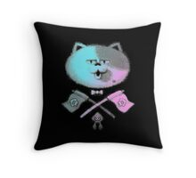 JUDD THE CAT Throw Pillow