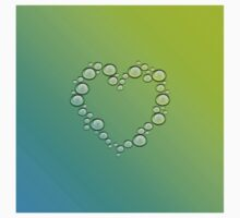 heart of water drops Kids Clothes