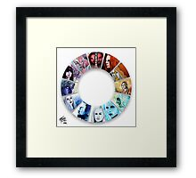 The Colour Wheel of Defiance Framed Print