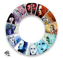 The Colour Wheel of Defiance Photographic Print