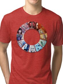 The Colour Wheel of Defiance Tri-blend T-Shirt