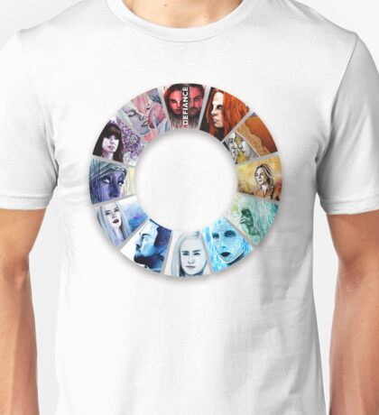 The Colour Wheel of Defiance Unisex T-Shirt