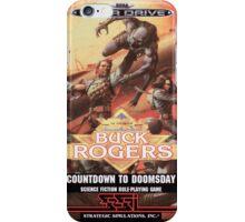 Buck Rogers Mega Drive Cover iPhone Case/Skin