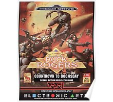 Buck Rogers Mega Drive Cover Poster
