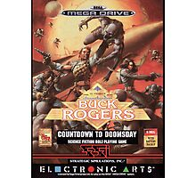 Buck Rogers Mega Drive Cover Photographic Print