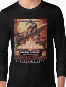 Buck Rogers Mega Drive Cover Long Sleeve T-Shirt