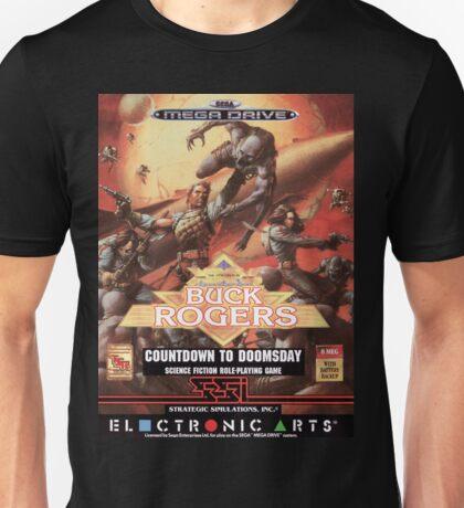 Buck Rogers Mega Drive Cover Unisex T-Shirt